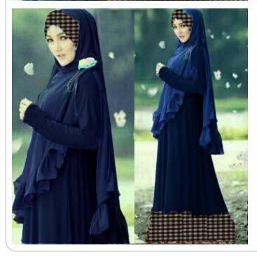 Pakaian Hijab / Gamis Dress Set - Angkasa Gamis