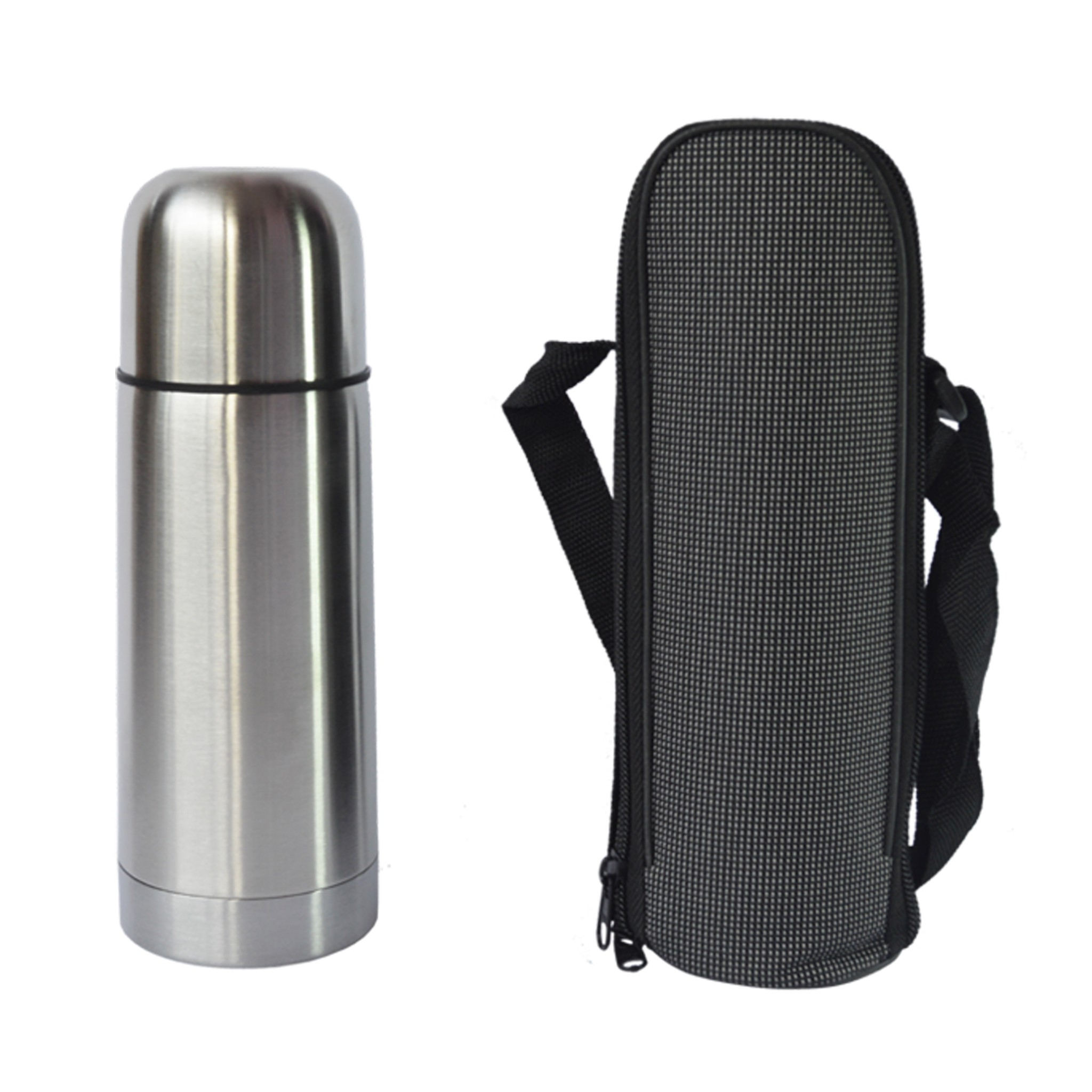 Harga Jual Botol Plastik Minuman 500 Ml Termos Stainless Polos Free Tas