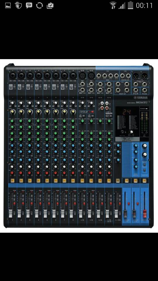 Mixer Yamaha Mg 16xu ( 16 Channel )