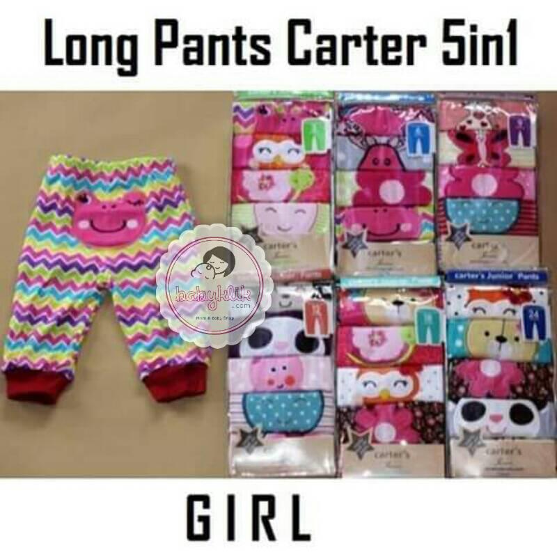 Jual Celana Panjang Carter Isi 5 Pcs Babyklik Baby