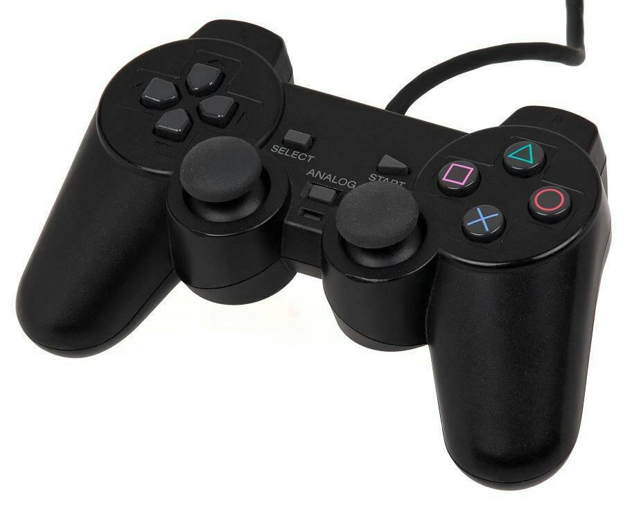 265,44грн. Проводной джойстик, совместим с игровой приставкой Sony PS1. Артикул:000103-2