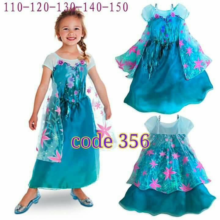 Jual Dress Frozen Elsa Fever Baju Anak Kostum Ultah