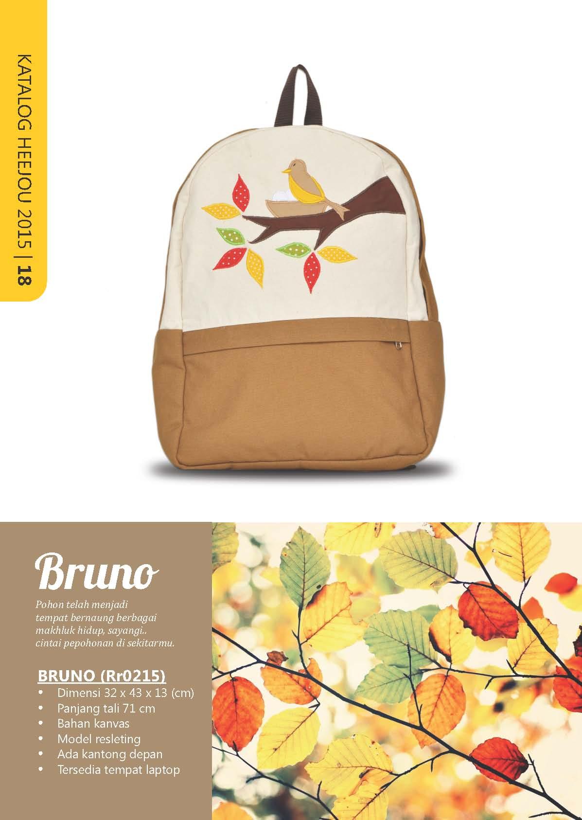 Jual BRUNO Heejou - Tas Sekolah Kanvas Wanita Branded Handmade -  GriyaEtnik.Com  4bf6d0f9ee
