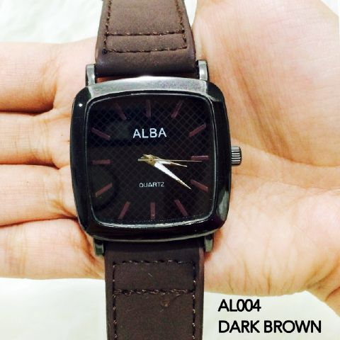 Jam Tangan Alba Wanita Model Kotak