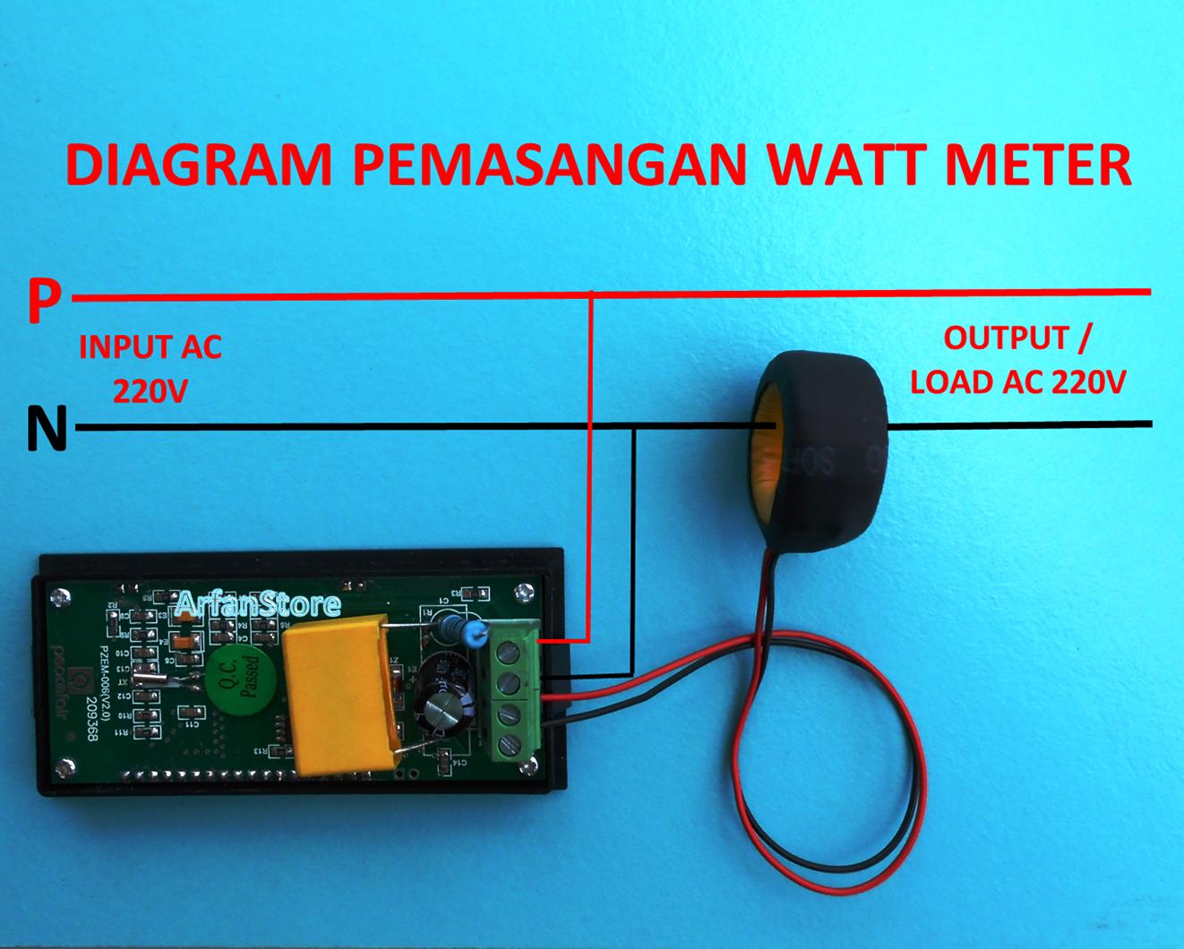 Volt Ampere Watt Meter Wiring Diagram On For Digital Ammeter Photos Of