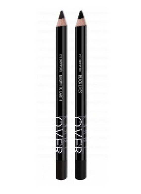Jual Makeover Eyebrow Pencil Bymuffy Tokopedia