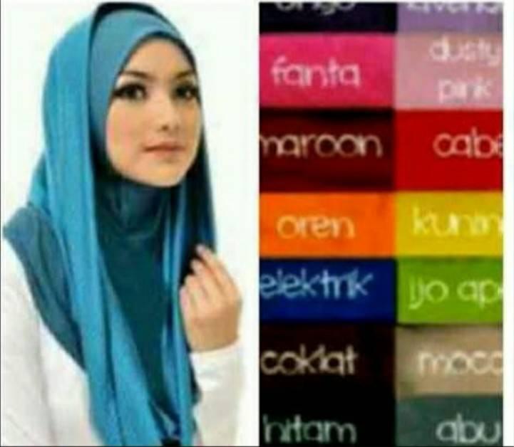 kerudung / hijab instan / najwa / hodie / sosor