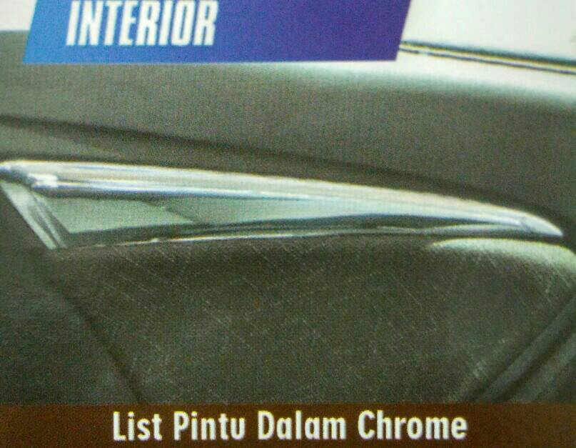 Lis Pintu Dalam Chrome Jazz 2014