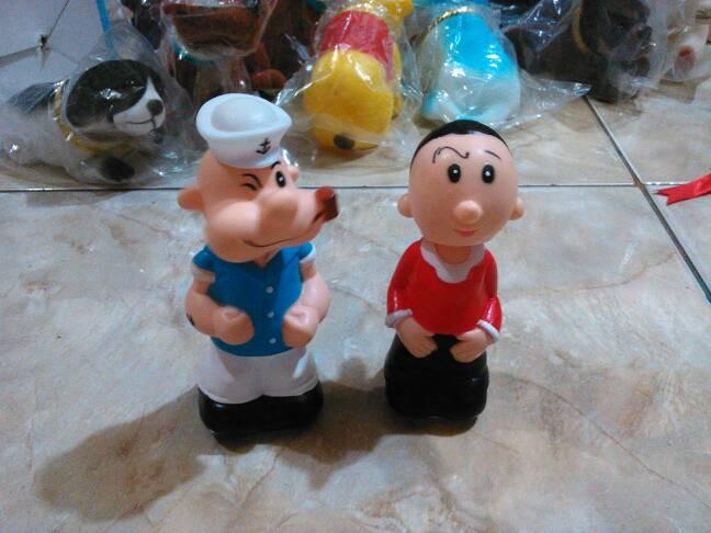 Harga Boneka Dashboard Goyang Couple Popeye n Olive