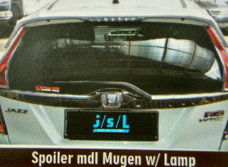 Spoiler Jazz 2014 Model Mugen + Lampu