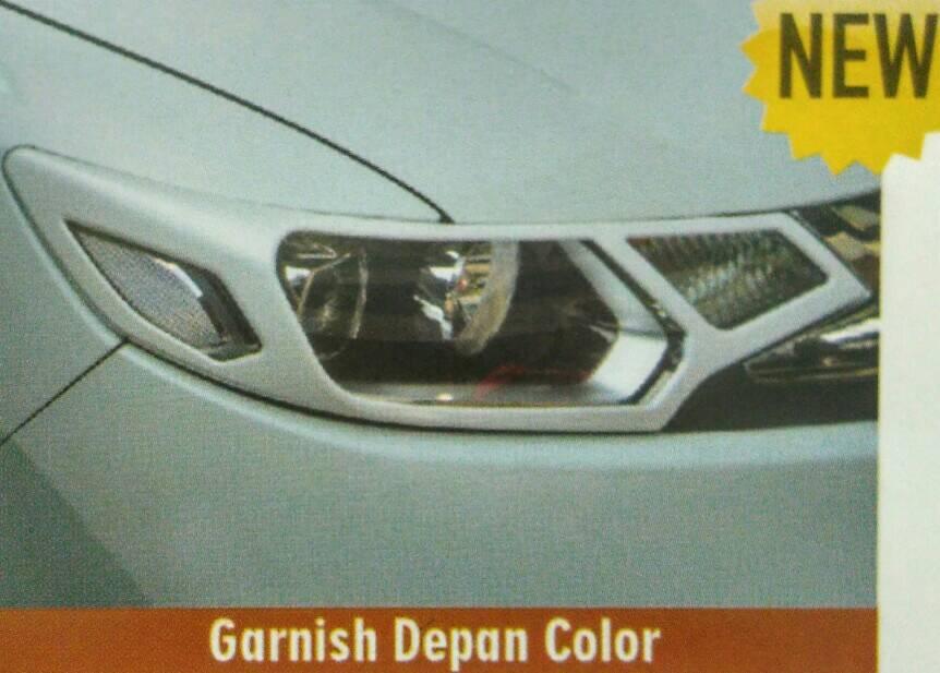 Paket Garnis Depan+Belakang Jazz 2014 Colour