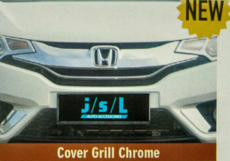 Cover Grill Depan Jazz 2014 Chrome