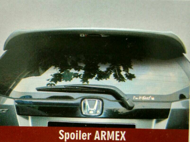 Spoiler All New Jazz Model Armex + Lampu