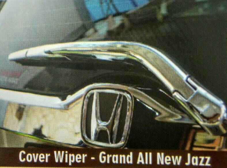 Cover Wiper Belakang Jazz 2014 Chrome