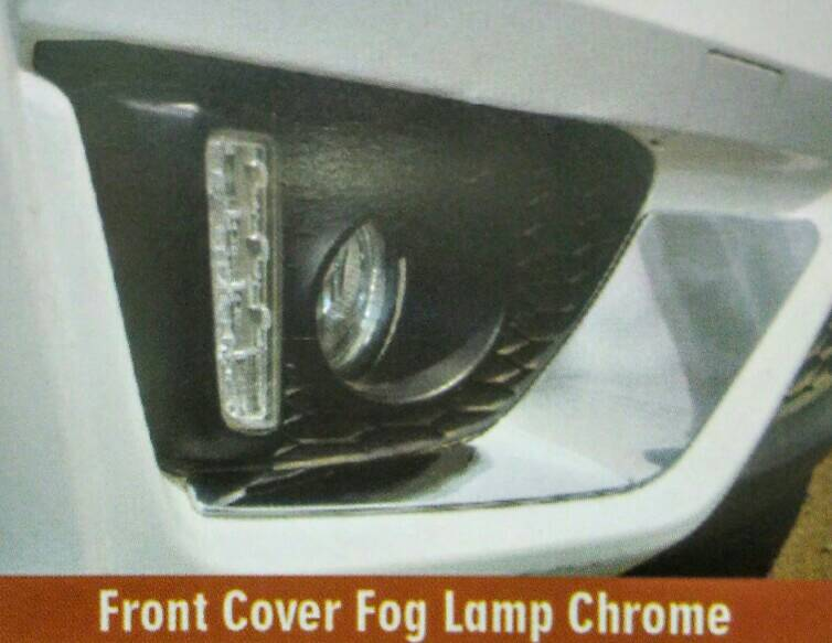 Front Cover Foglamp Chrome Jazz 2014