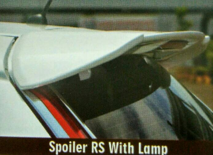 Spoiler Jazz RS 2014 + Lampu