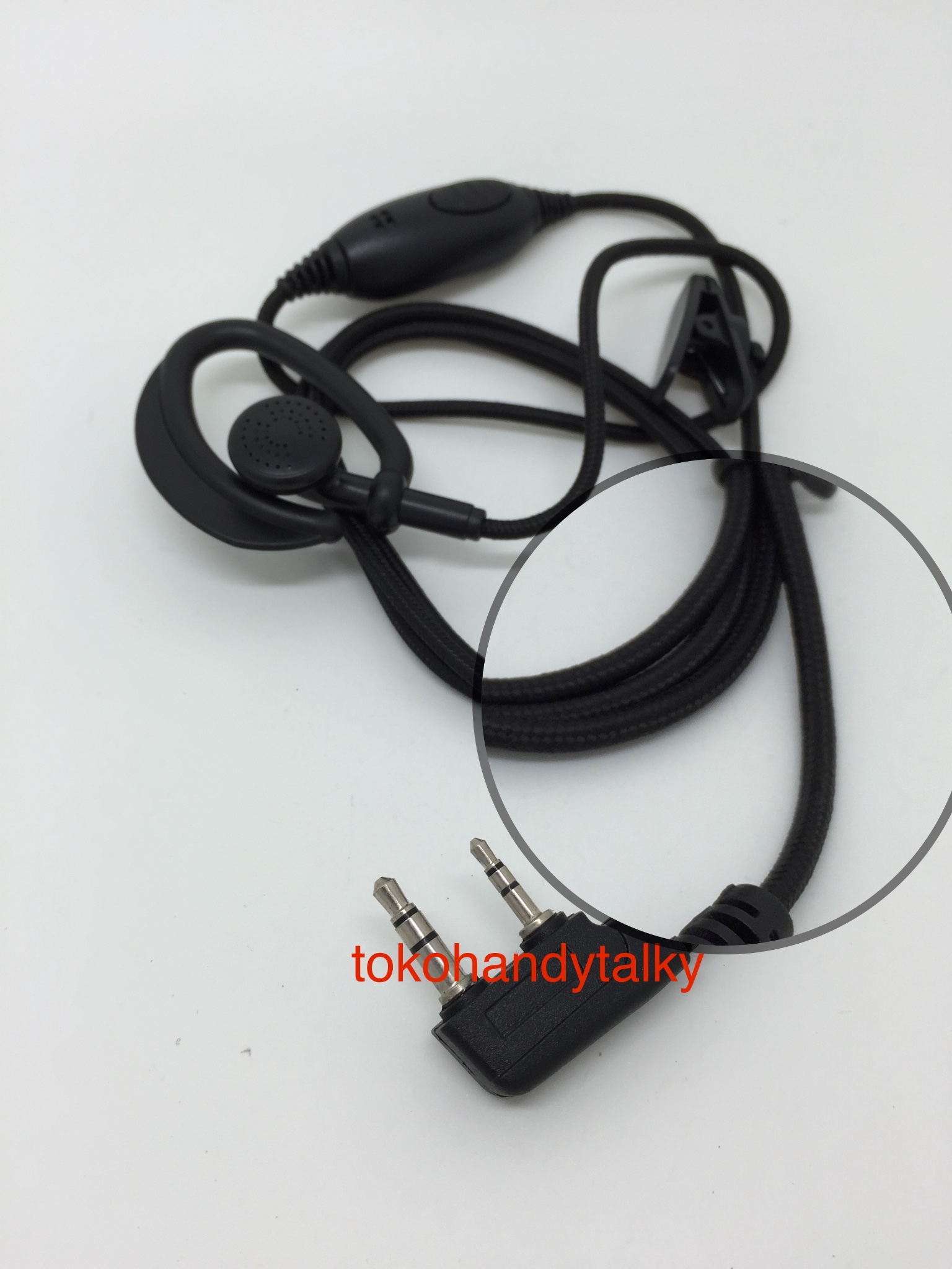 Jual Earphone Tali Ht China Kenwood Tokohandytalky Tokopedia Cina