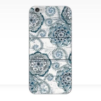 harga Casing HP Shabby Chic Navy Blue doodles on Wood Iphone Samsung Tokopedia.com