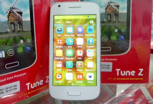 [PROMO Berkah TREQ] Tune Z Smartphone 4GB Layar IPS HD 3 Tahun Garansi