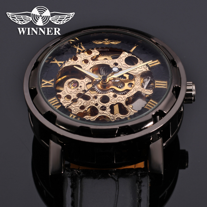 WINNER WRG8008 Skeleton Automatic Watch Original + Box
