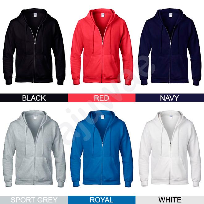 Ulasan Produk Sweater Hoodie Zipper Polos GILDAN - bajuwae | Tokopedia
