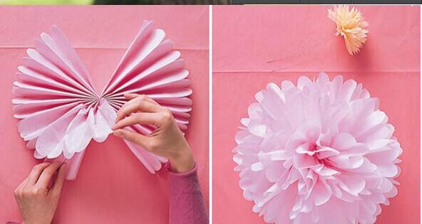 Как сделать шары из гофрированной бумаги своими 167