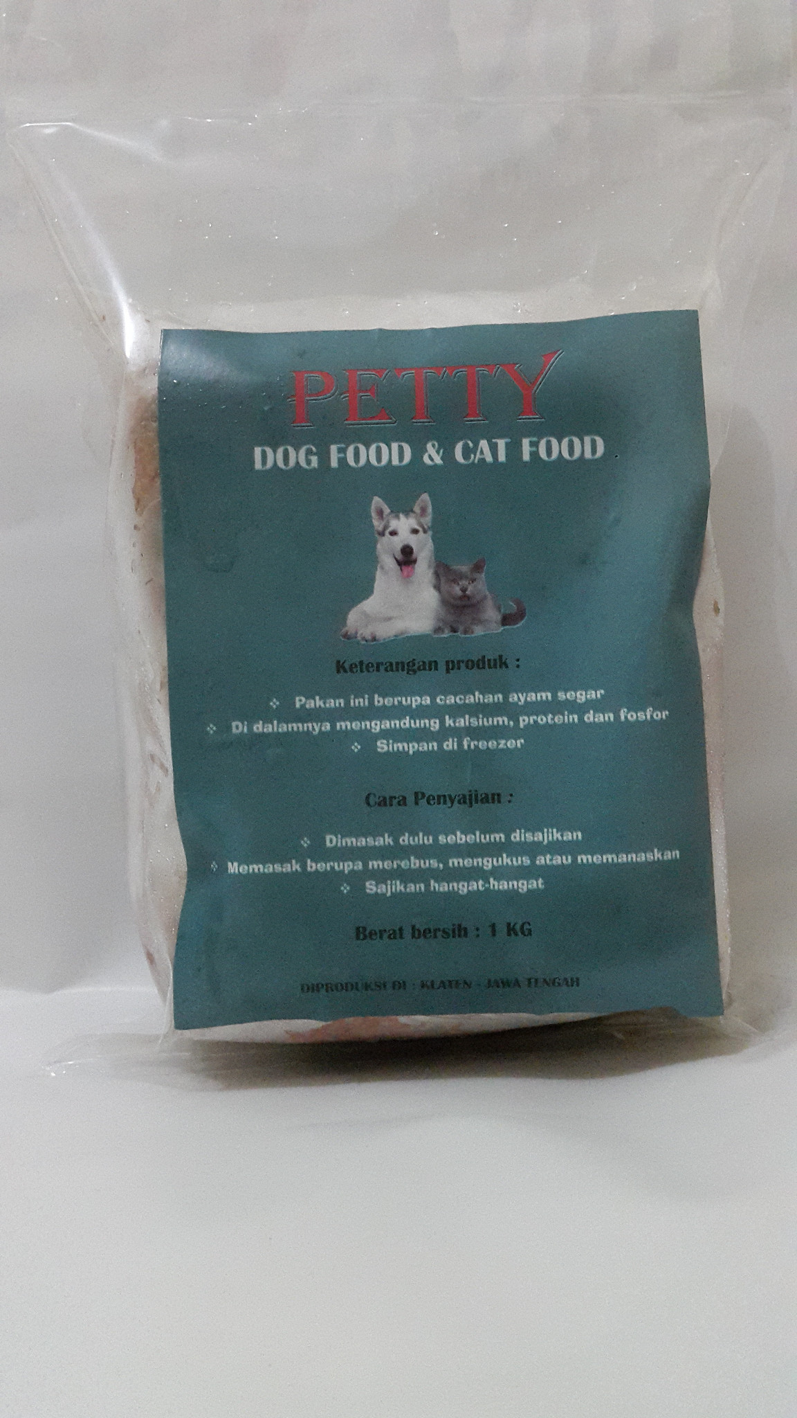 Jual PETTY Pakan Basah Untuk Anjing Dan Kucing