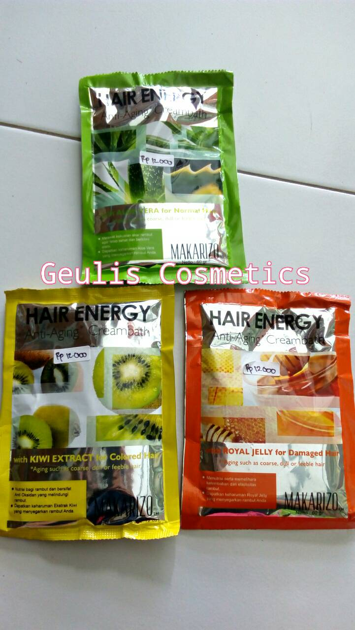 Makarizo Hair Energy Sachet