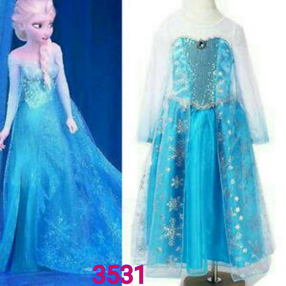 Jual Baju Elsa Frozen Import Grosir Welcome Reseller