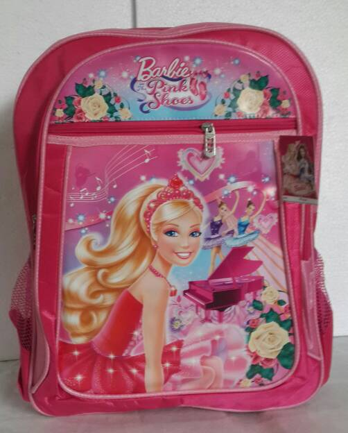 harga Tas ransel anak sekolah SD princess barbie pink Tokopedia.com