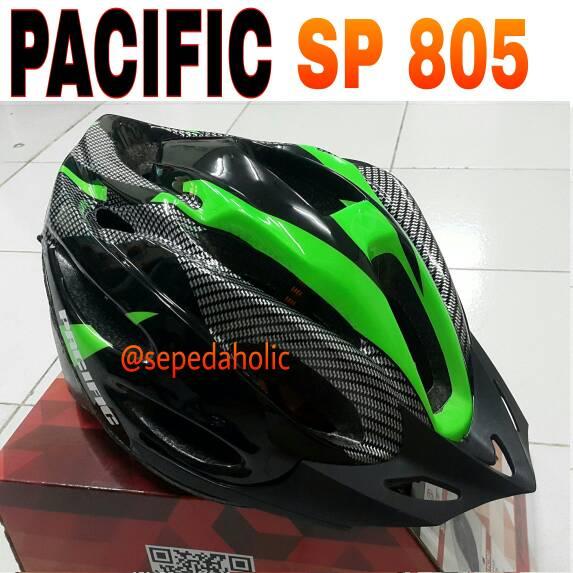Helm Sepeda PACIFIC SP 805 hijau
