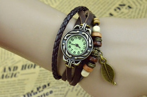 harga Braid Leather Watch (Jam Tangan Kulit Kepang - Lilit - Vintage -Triba) Tokopedia.com