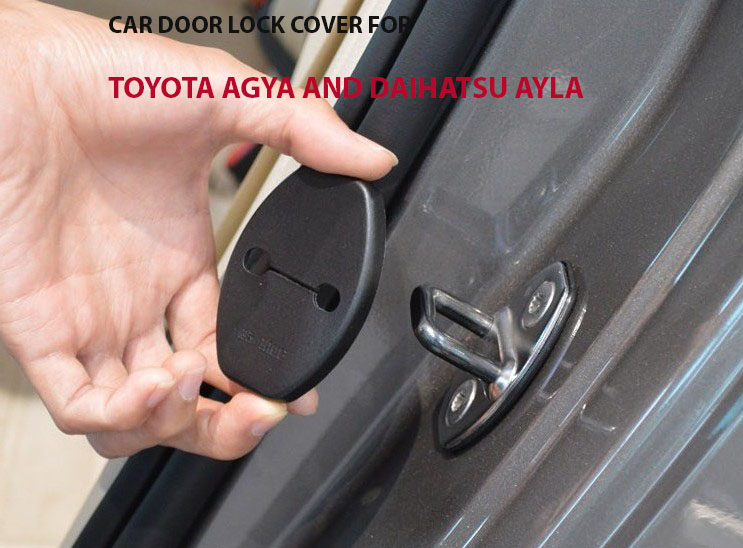 Harga Car door lock cover for Toyota Agya, Daihatsu Ayla