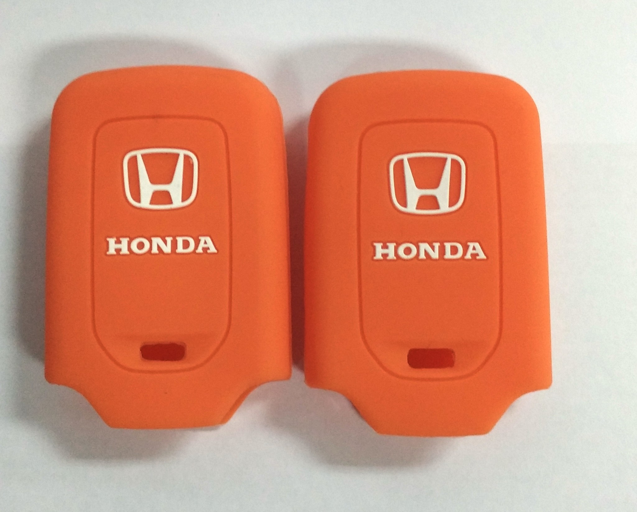 Kondom Kunci Silikon Cover Remote Keyshirt Honda HRV HR-V Jazz ORANGE