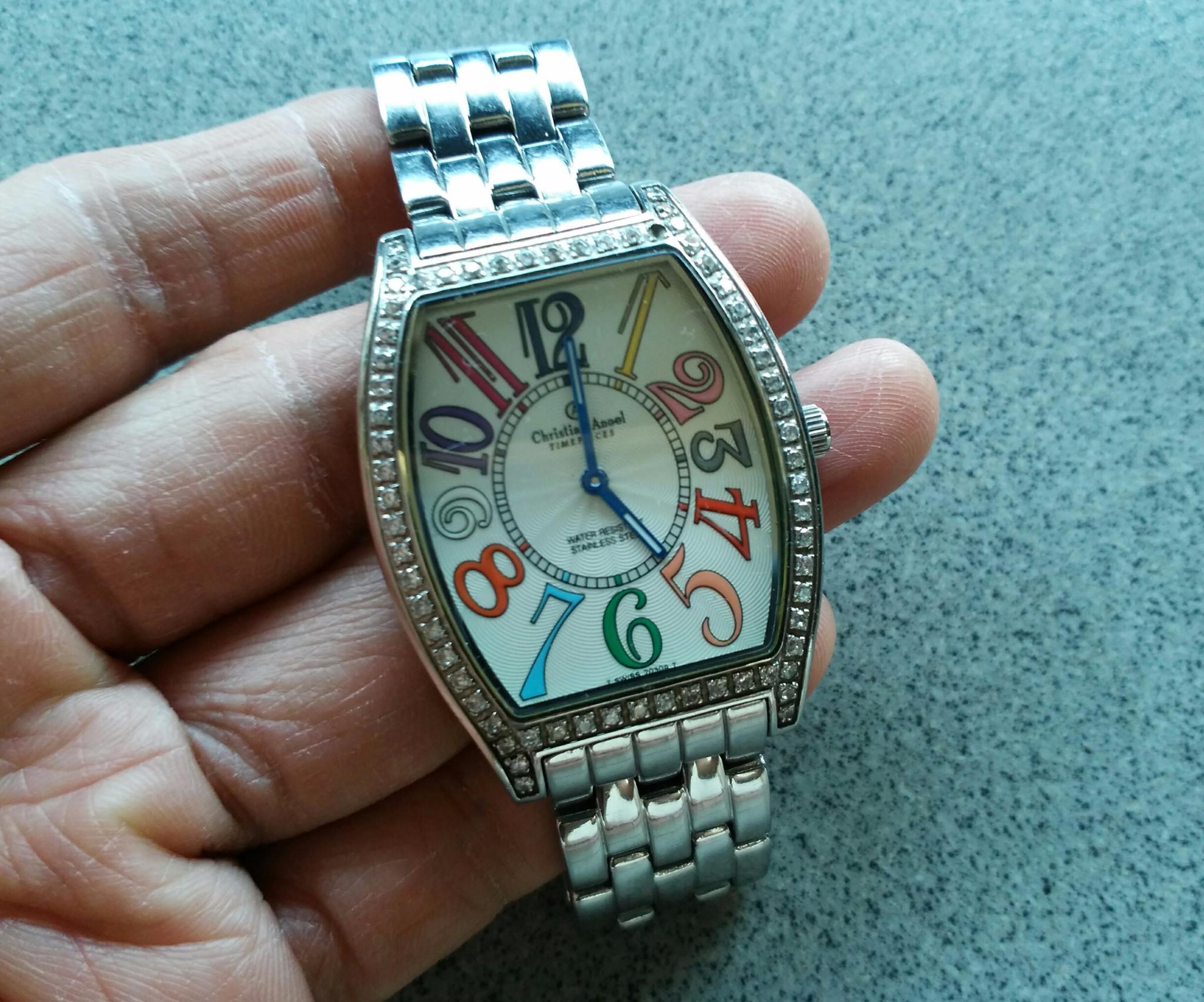 harga CHRISTIAN ANGEL TIMEPIECES 7030G Tokopedia.com