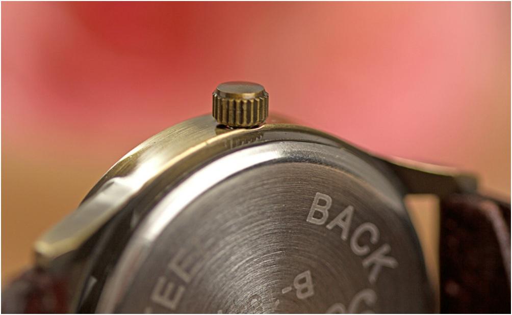 Big Retro Watch (Jam Tangan Vintage - Retro Dengan Dial & Angka Besar)