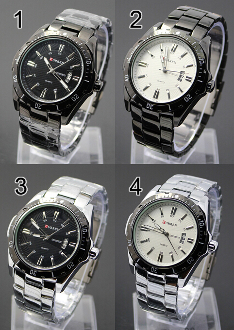 Curren 8110 Casual - Sytle Watch (Jam Tangan Sportif)
