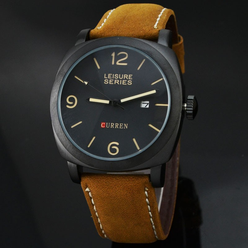 Curren 8158 Casual - Style Watch (Jam Tangan Kasual - Sportif)