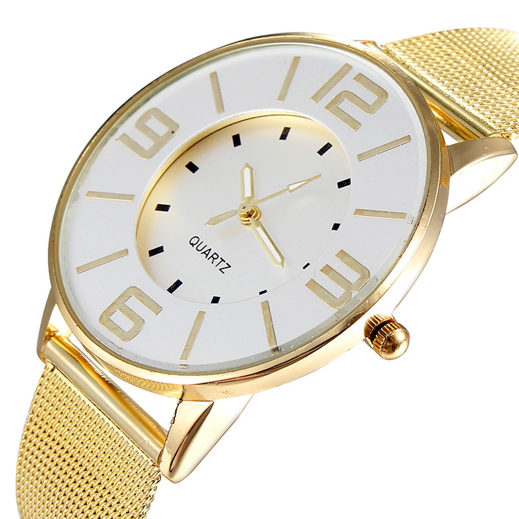 Gold Fashion Watch (Jam Tangan Fesyen Emas Pasir)