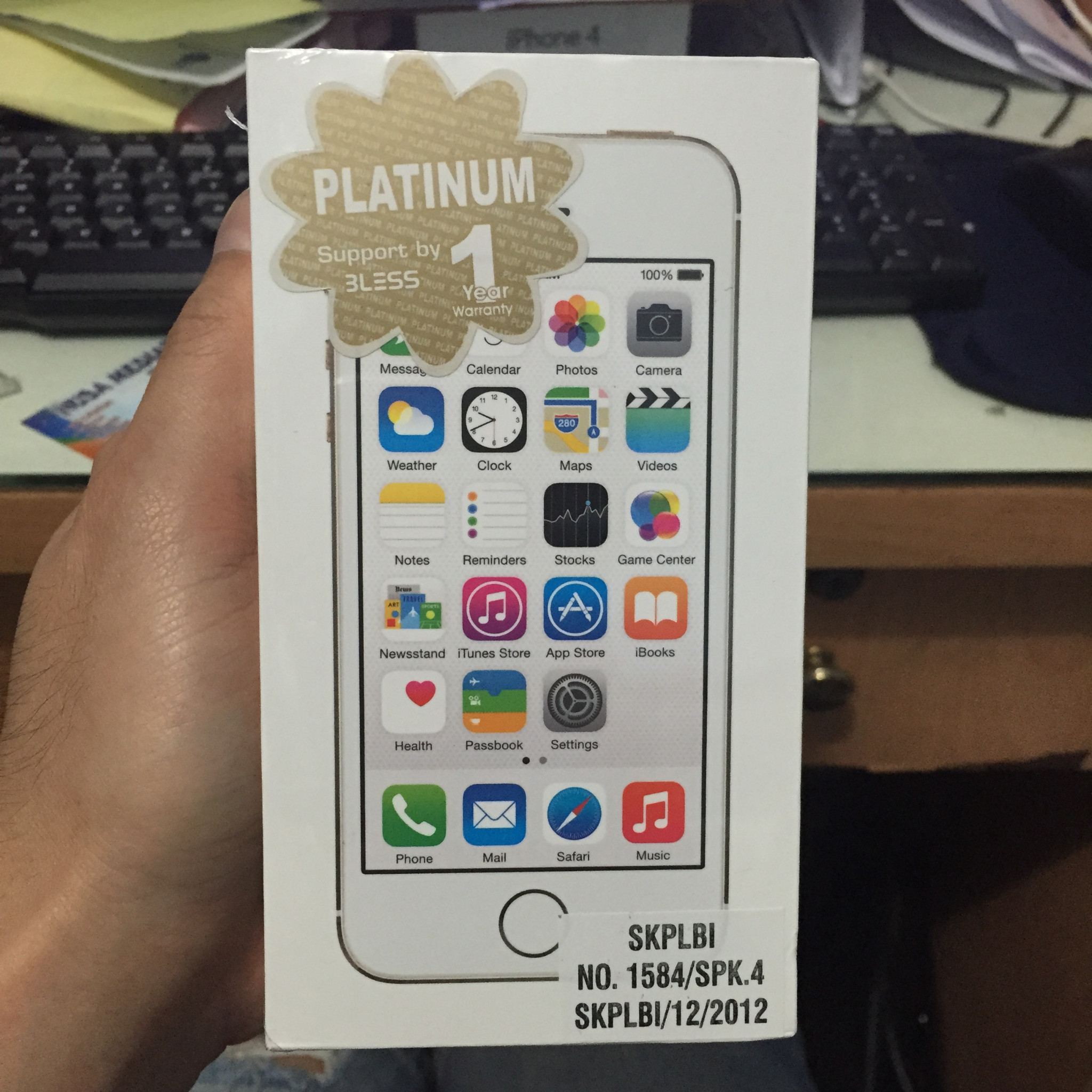 Jual Aktif Iphone 5s 32gb Gold Garansi International Platinum 1 Thn
