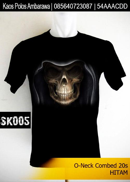 Kaos Distro Skull Series SK005