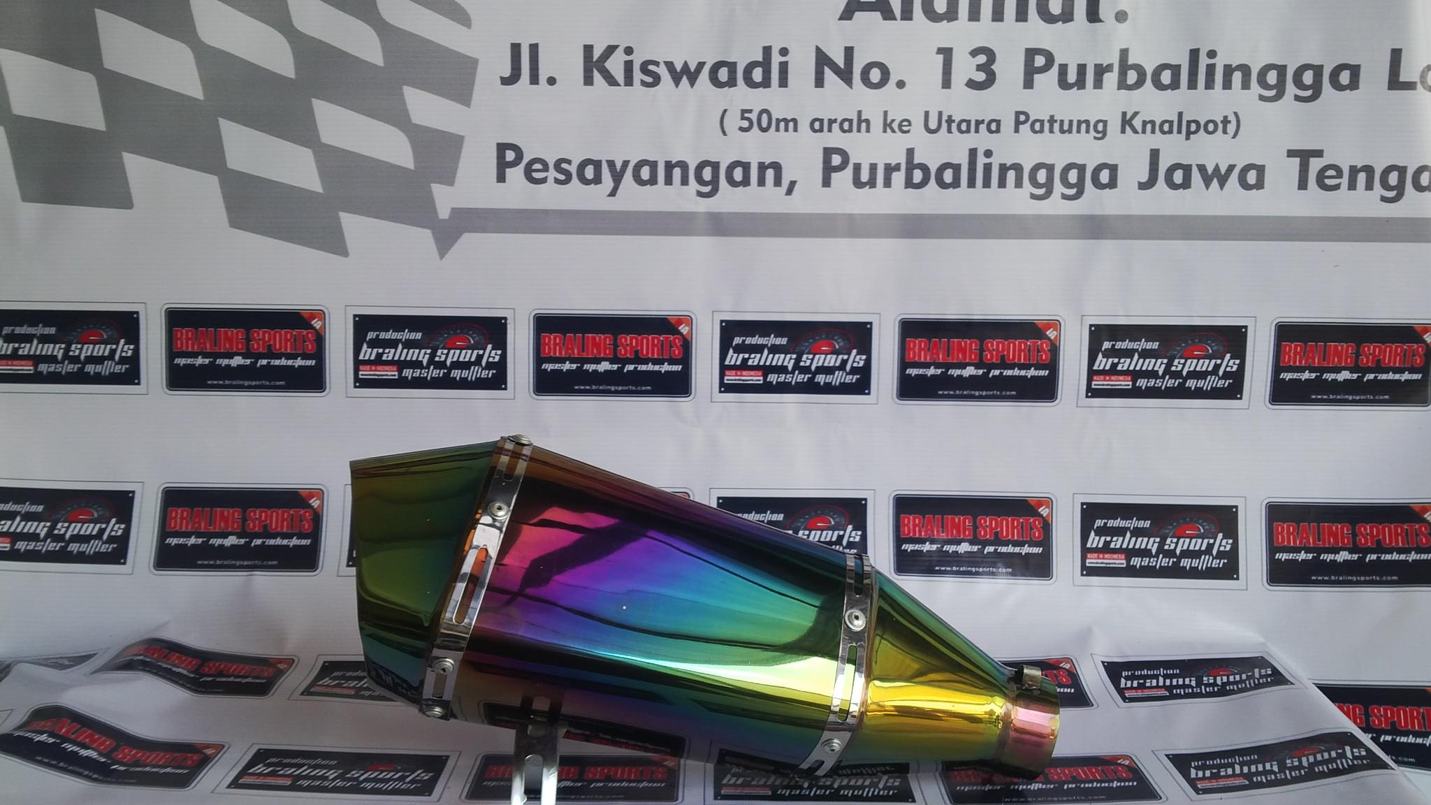Knalpot Yoshimura R11 Rainbow So for R25,R15,NVL,Ninja 250fi,CBR,Tiger