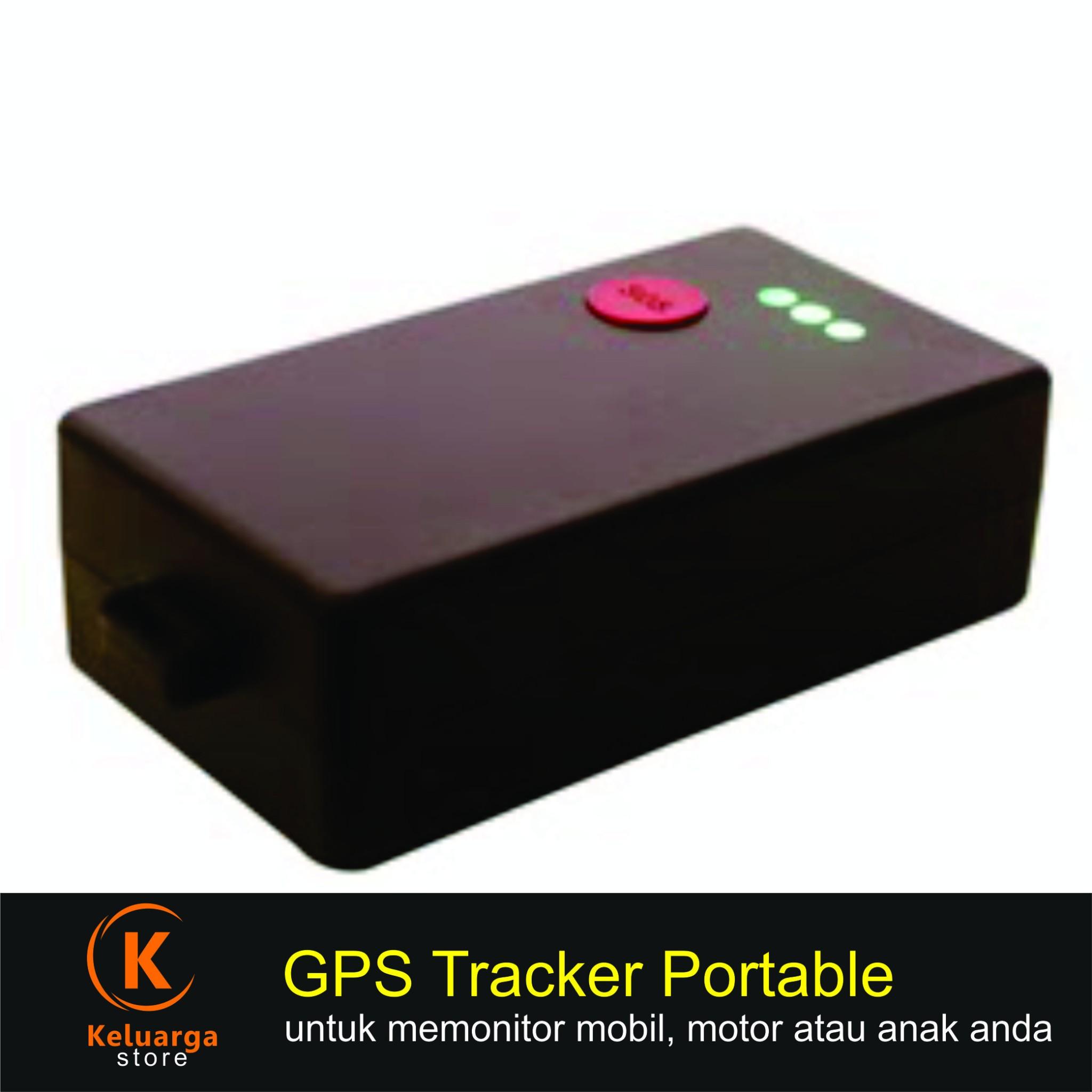 GPS Tracker Portabel bisa utk mobil, motor dan anak
