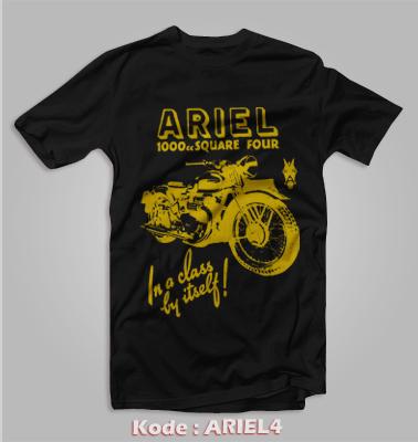 harga KAOS MOTOR TUA KLASIK AJS ARIEL BRITISH MOTORCYCLE KODE:ARIEL4 Tokopedia.com