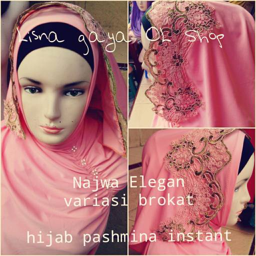 Hijab Pashmina Instan Najwa Elegan