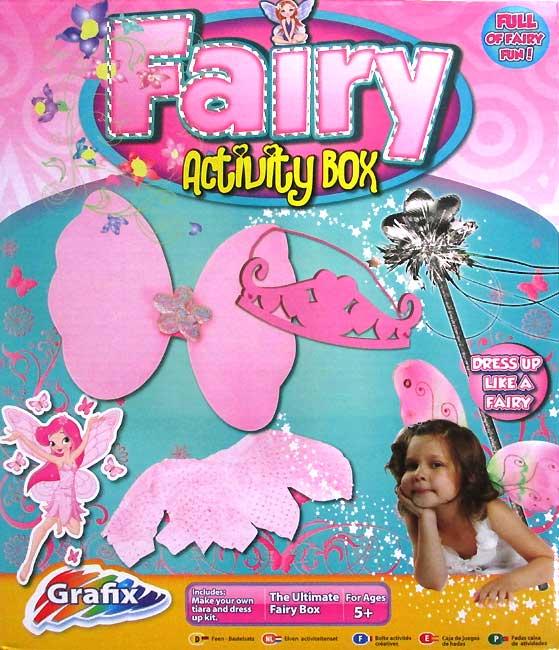 harga Fairy Activity Box (Make You Own Tiara, Wings, Wand and Dress-Up Kit) Tokopedia.com