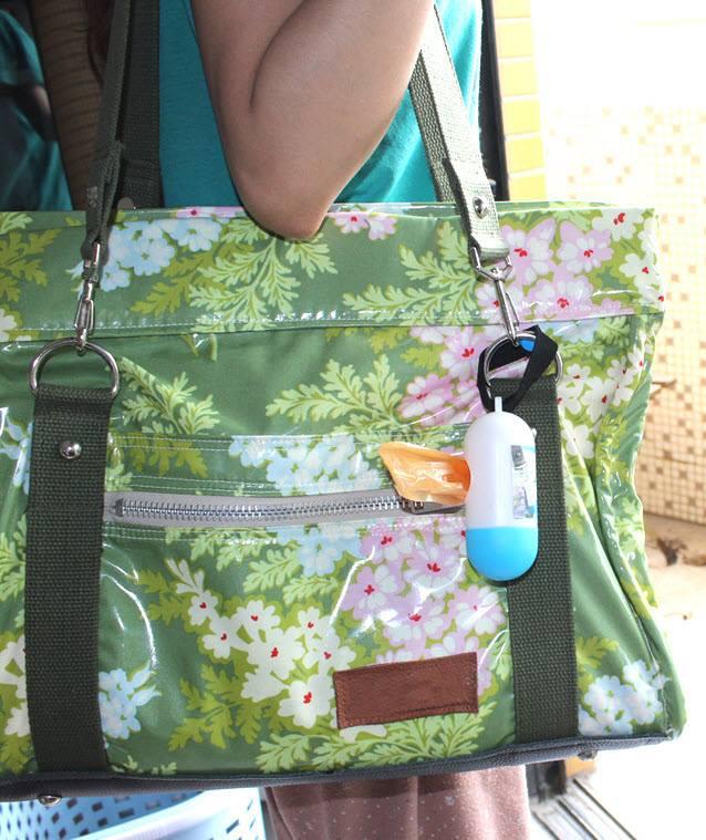 (3 item) Kantong kresek utk buang popok bs gantung d stroller atau tas