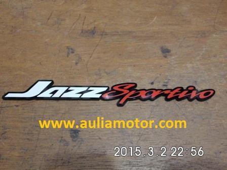 Emlem-Merek-Honda Jazz Sportivo