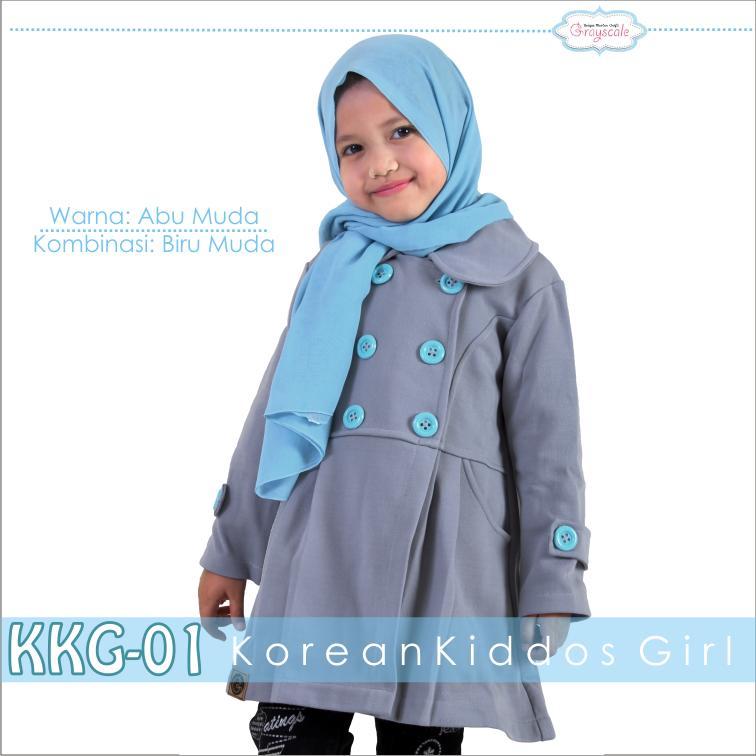 Jaket Coat Blazer Korea Style Anak tanpa hijab