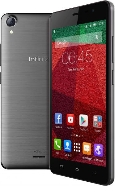 Infinix Hot Note X551 - 16 GB - Abu-abu